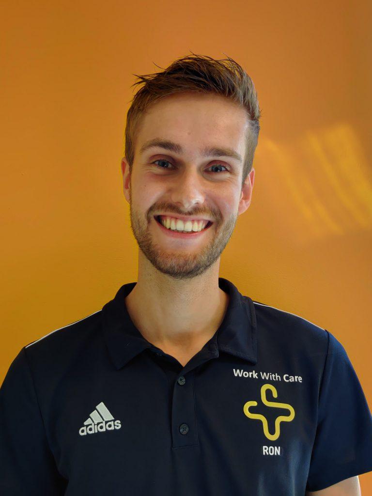Ron Klaver, Fysiotherapeut bij Work With Care in Velserbroek